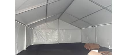 Structure de stockage neuve